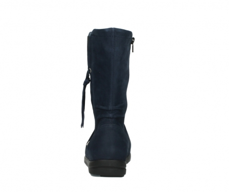wolky mid calf boots 02425 newton wp 13800 blue nubuckleather_7