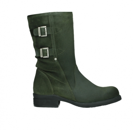 wolky mid calf boots 02626 willis 45730 forestgreen suede_1