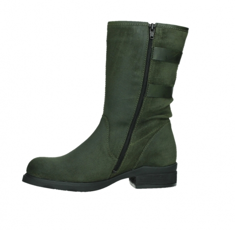 wolky mid calf boots 02626 willis 45730 forestgreen suede_12