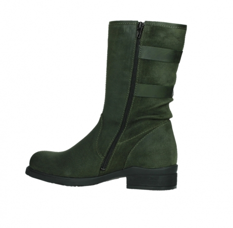 wolky mid calf boots 02626 willis 45730 forestgreen suede_14