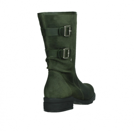 wolky mid calf boots 02626 willis 45730 forestgreen suede_21