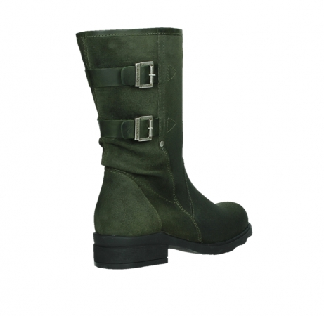 wolky mid calf boots 02626 willis 45730 forestgreen suede_22