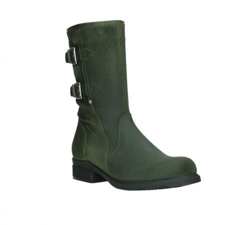 wolky mid calf boots 02626 willis 45730 forestgreen suede_4