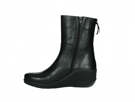 wolky mid calf boots 03876 newtok 30000 black leather_13