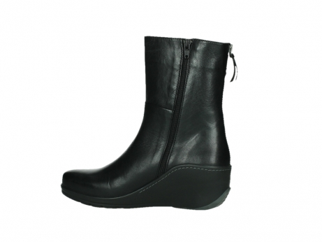 wolky mid calf boots 03876 newtok 30000 black leather_14