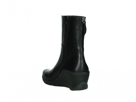 wolky mid calf boots 03876 newtok 30000 black leather_17