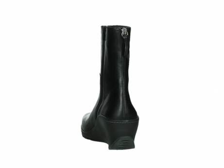 wolky mid calf boots 03876 newtok 30000 black leather_18