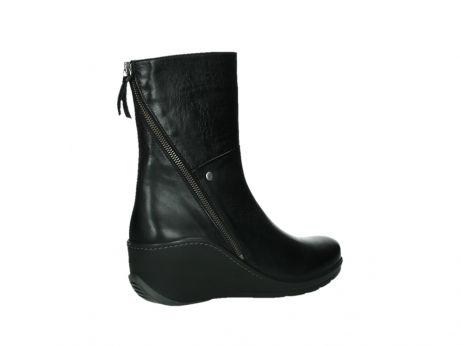 wolky mid calf boots 03876 newtok 30000 black leather_23