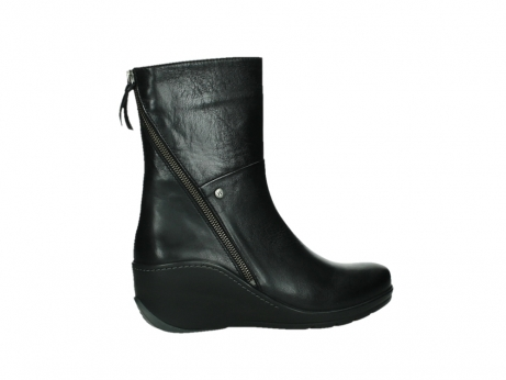 wolky mid calf boots 03876 newtok 30000 black leather_24