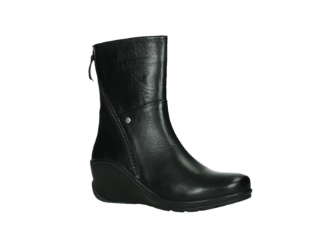 wolky mid calf boots 03876 newtok 30000 black leather_3