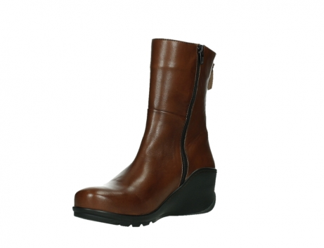 wolky mid calf boots 03876 newtok 30430 cognac leather_10