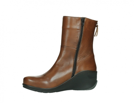 wolky mid calf boots 03876 newtok 30430 cognac leather_12