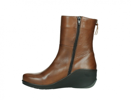 wolky mid calf boots 03876 newtok 30430 cognac leather_13