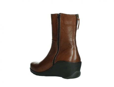 wolky mid calf boots 03876 newtok 30430 cognac leather_16
