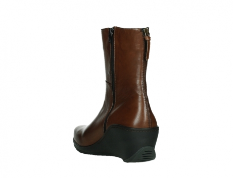 wolky mid calf boots 03876 newtok 30430 cognac leather_17