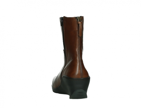 wolky mid calf boots 03876 newtok 30430 cognac leather_18