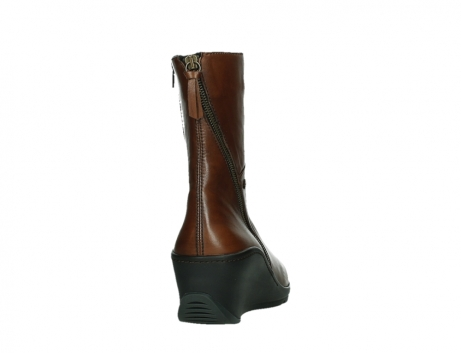 wolky mid calf boots 03876 newtok 30430 cognac leather_20