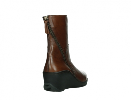 wolky mid calf boots 03876 newtok 30430 cognac leather_21