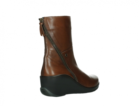 wolky mid calf boots 03876 newtok 30430 cognac leather_22
