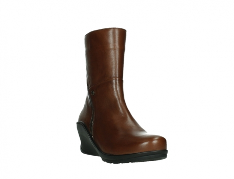wolky mid calf boots 03876 newtok 30430 cognac leather_5