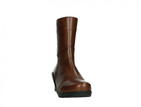 wolky mid calf boots 03876 newtok 30430 cognac leather_6