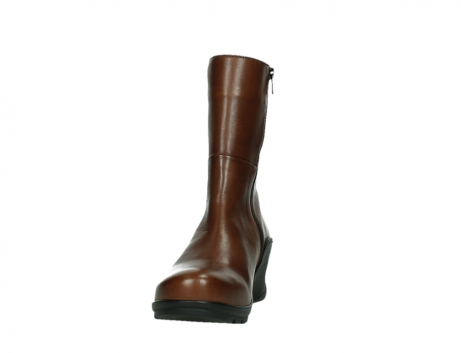 wolky mid calf boots 03876 newtok 30430 cognac leather_8