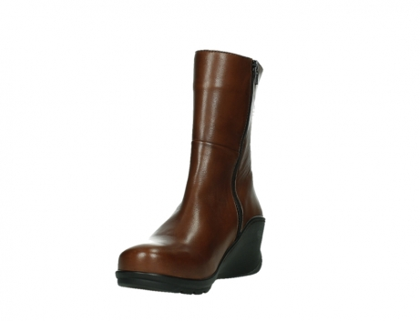 wolky mid calf boots 03876 newtok 30430 cognac leather_9