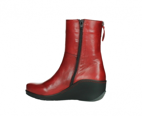 wolky mid calf boots 03876 newtok 30505 dark red leather_14