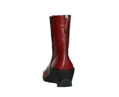 wolky mid calf boots 03876 newtok 30505 dark red leather_18