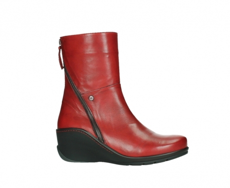 wolky mid calf boots 03876 newtok 30505 dark red leather_2
