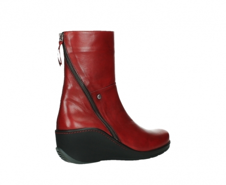 wolky mid calf boots 03876 newtok 30505 dark red leather_23