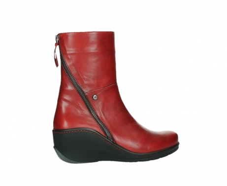 wolky mid calf boots 03876 newtok 30505 dark red leather_24