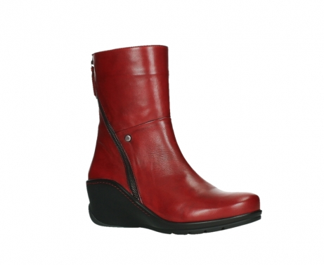 wolky mid calf boots 03876 newtok 30505 dark red leather_3