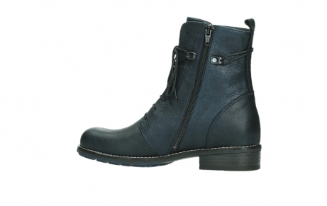 wolky mid calf boots 04432 murray 25800 metallic blue leather_14