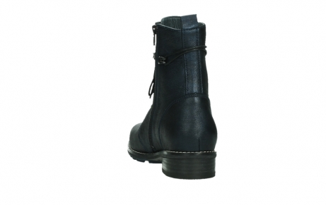 wolky mid calf boots 04432 murray 25800 metallic blue leather_18