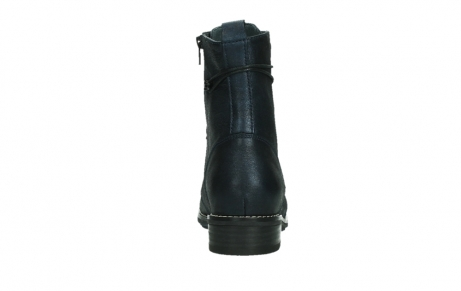 wolky mid calf boots 04432 murray 25800 metallic blue leather_19