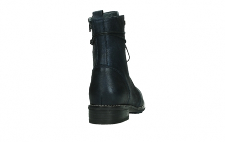 wolky mid calf boots 04432 murray 25800 metallic blue leather_20