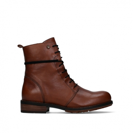 wolky mid calf boots 04438 murray cw 20430 cognac leather cold winter warm lining