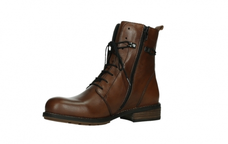 wolky mid calf boots 04438 murray cw 20430 cognac leather cold winter warm lining_11