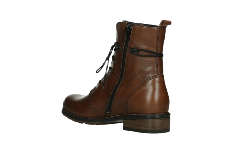 wolky mid calf boots 04438 murray cw 20430 cognac leather cold winter warm lining_16