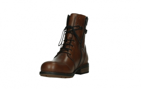 wolky mid calf boots 04438 murray cw 20430 cognac leather cold winter warm lining_9
