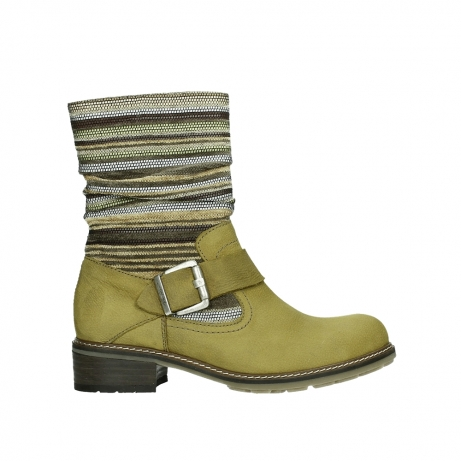wolky mid calf boots 04479 thor 19940 mustard nubuckleather