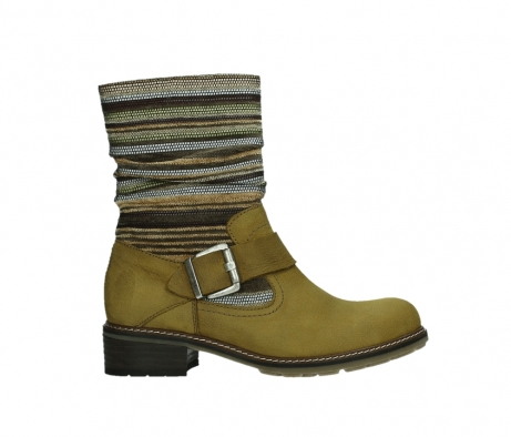 wolky mid calf boots 04479 thor 19940 mustard nubuckleather_1