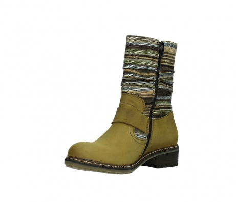 wolky mid calf boots 04479 thor 19940 mustard nubuckleather_10