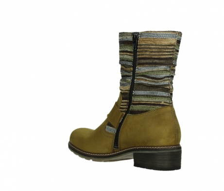 wolky mid calf boots 04479 thor 19940 mustard nubuckleather_16