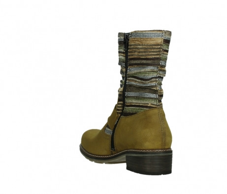 wolky mid calf boots 04479 thor 19940 mustard nubuckleather_17