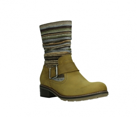 wolky mid calf boots 04479 thor 19940 mustard nubuckleather_4