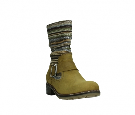 wolky mid calf boots 04479 thor 19940 mustard nubuckleather_5