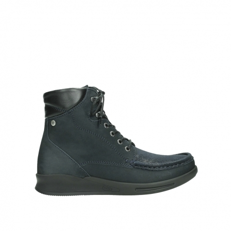 wolky mid calf boots 05904 four 10875 blue winter stretch nubuck