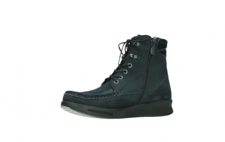 wolky lace up boots 05904 four 10875 blue winter stretch nubuck_11
